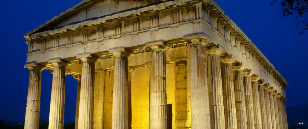 Greek Architecture From The Past Into Future