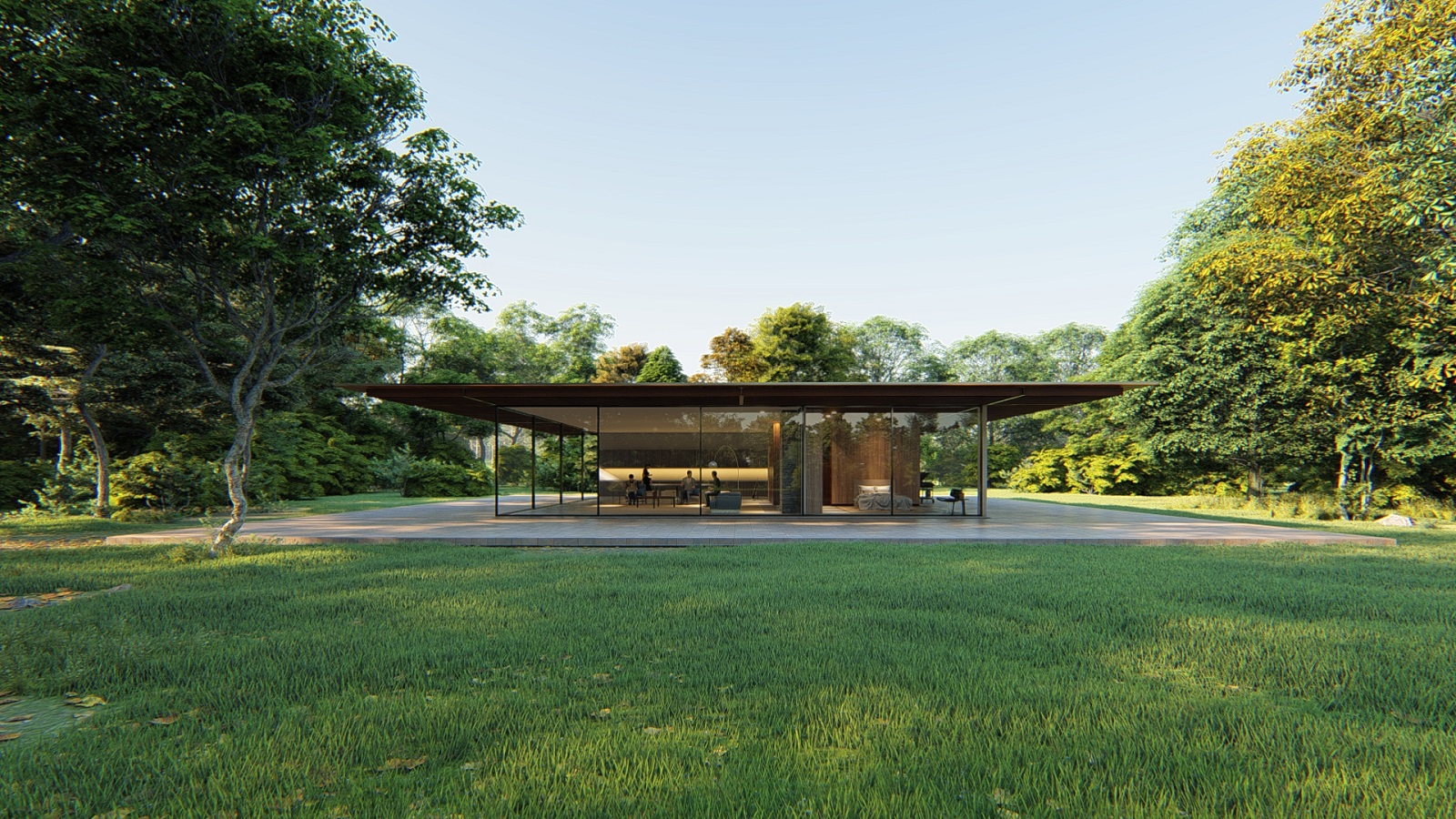 Glass House Nick Plimmer Day