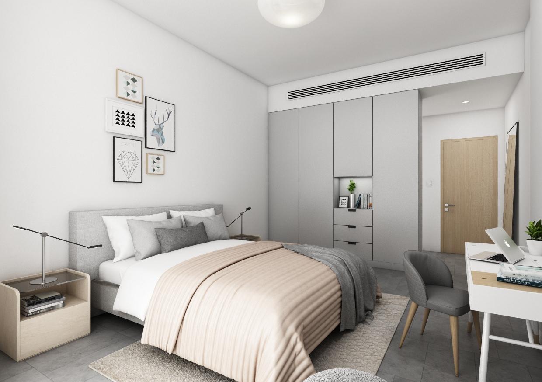 Ellington 1 Bedroom Apartment - Bedroom View