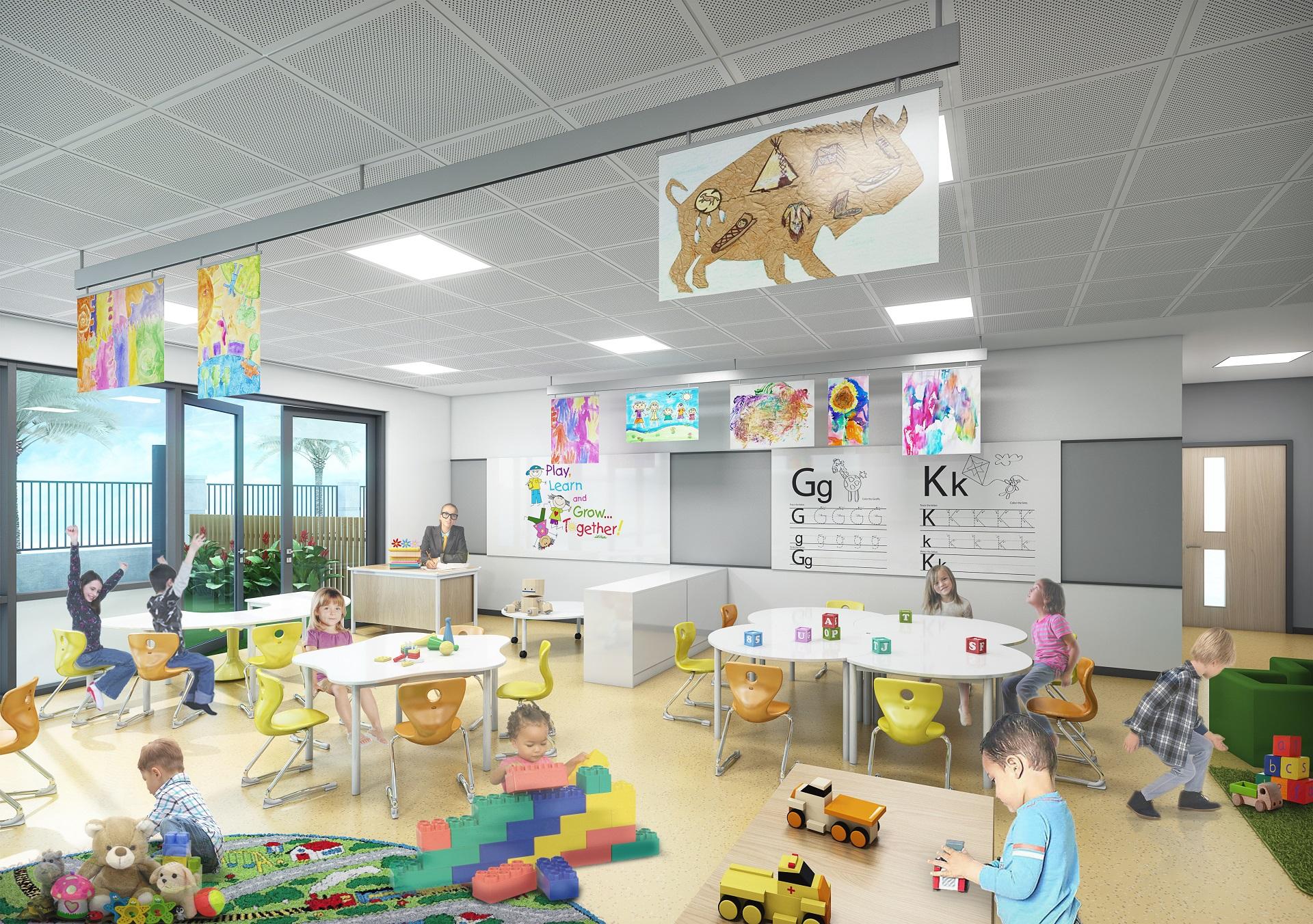 Esol Education Classroom