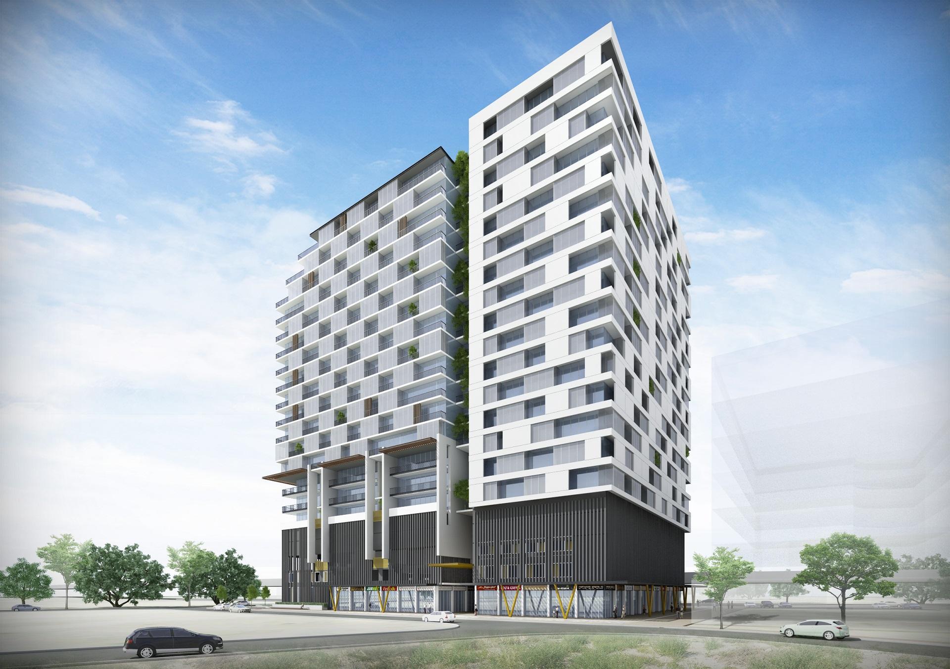 API Residential - Backside