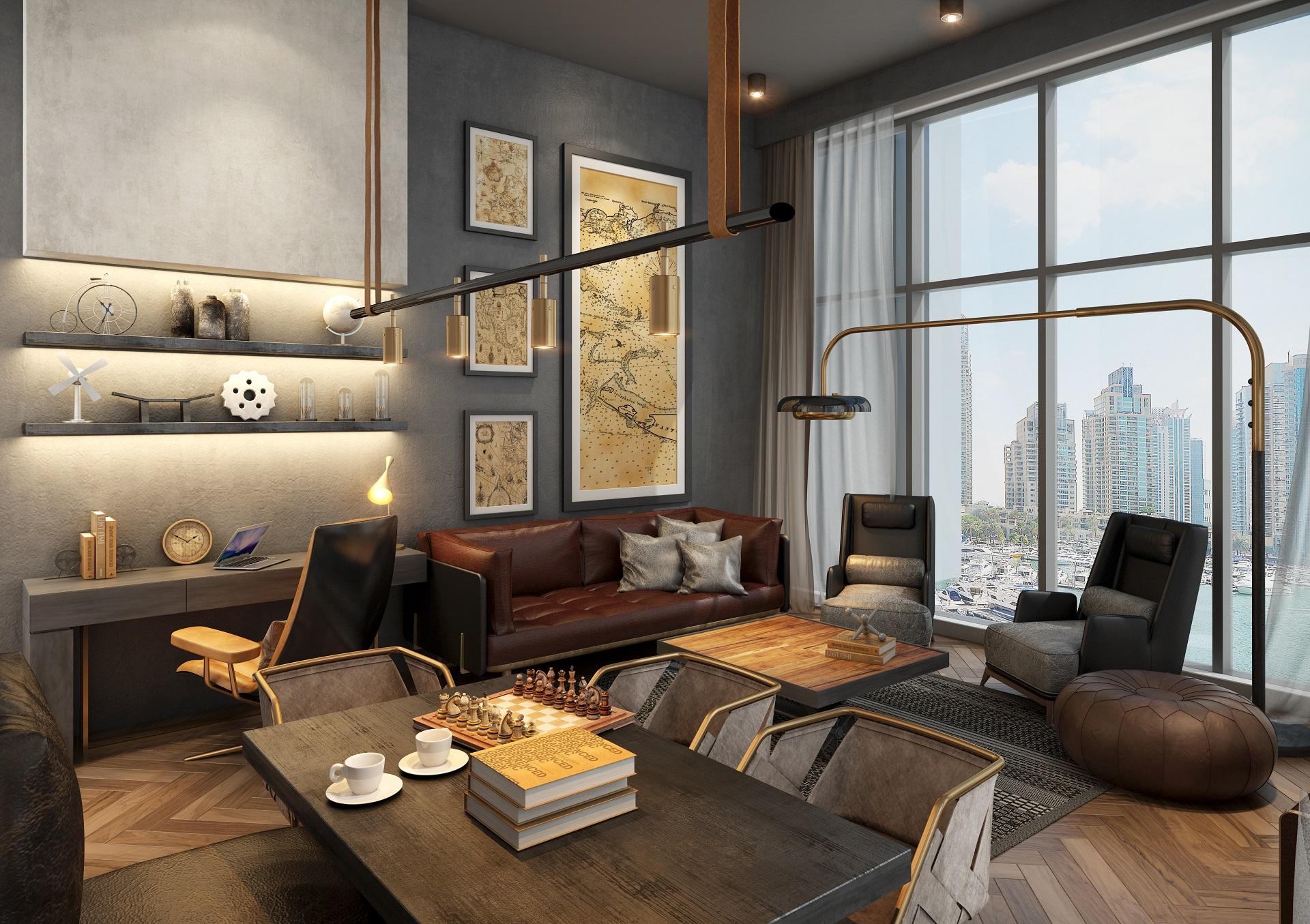 Mankhool Resident - Living Room 2