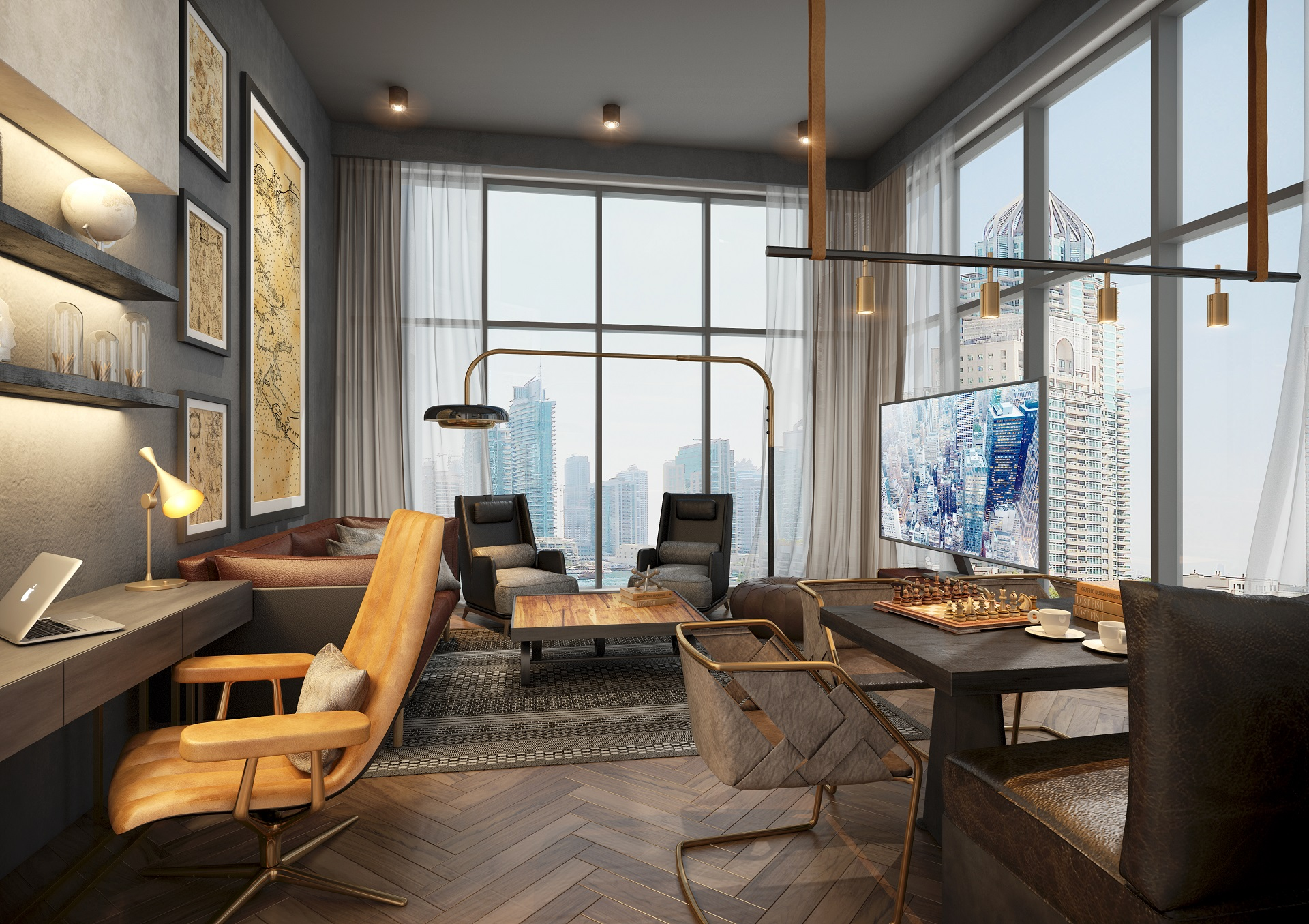 Mankhool Resident - Living Room